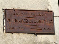 Plaque de cocher – Rue Vellicitas – Thonnance-lès-Joinville