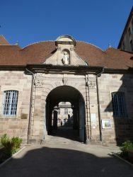 Vierge – Collège Saint Colomban – Luxeuil-les-Bains