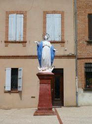 Vierge de Rome – Place du Souvenir – Villemur-sur-Tarn