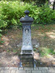 Borne-fontaine – Jardin de la Patte d'Oie – Reims