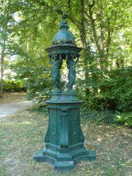 Fontaine Wallace – Jardin de la Patte d'Oie – Reims