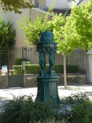 Fontaine Wallace – Place Saint-Thomas – Reims