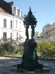 Fontaine Wallace – Place Luton – Reims