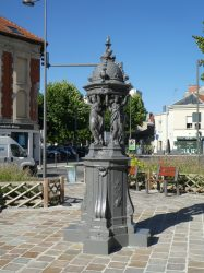 Fontaine Wallace – Place Jules Ferry – Reims
