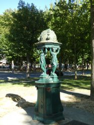 Fontaine Wallace – Square Georges Jantzy – Reims
