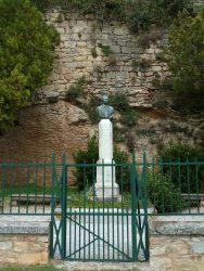 Buste de Déodat de Séverac – Promenade des remparts – Saint-Félix-Lauragais
