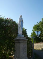 Vierge de Lourdes – Rue des Vaux – Esprels