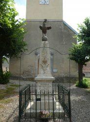 Monument aux morts – Grande Rue – Neuvelle-lès-la-Charité