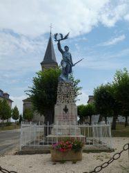Monument aux morts – Rue Cornot – Noidans-le-Ferroux