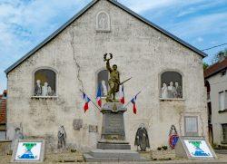 Monument aux mort – Rue de l'Église – Port-sur-Saône