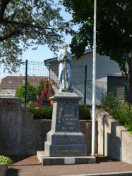 Monument aux morts – Rue de Belfort – Frahier-et-Chatebier