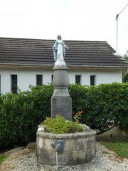 Vierge Immaculée – Rue Principale – L'Hôpital-Saint-Lieffroy