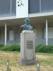 Buste de Gustave Courbet – Allée du Parc Piffard – Ornans