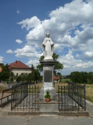 Vierge Immaculée – Rue de la Vierge – Bolandoz