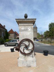 Fontaine – Place de l'Église – Torpes