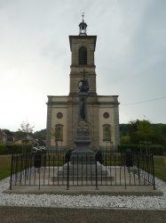 Monument aux morts – Route de Cluse – Cubrial