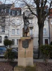 Monument Tchantchès et la hiercheuse – Place Maud'huy – Metz
