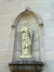 Statue Saint Paul – Grande Rue – Le Luhier