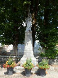 Statue Saint Joseph – Rue de l'École – Cuvier