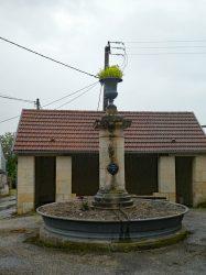 Fontaine Vase – Rue du Paradis – La Neuvelle-lès-Scey