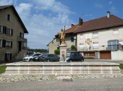 Fontaine République – Grande Rue – Labergement-Sainte-Marie