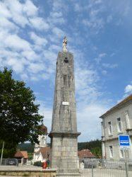 Vierge mère – Place de la Pyramide – Vaux-et-Chantegrue