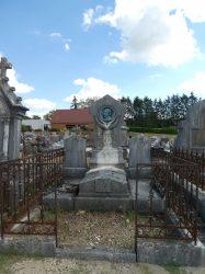 Tombe Nestor Ruffier – Cimetière – Avenue de Landon – Dole