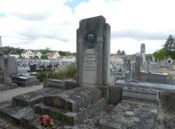 Tombe Marius Pieyre – Cimetière – Avenue de Landon – Dole