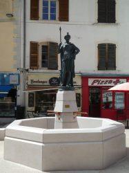 Fontaine Liberté – Rue Pasteur – Moirans-en-Montagne