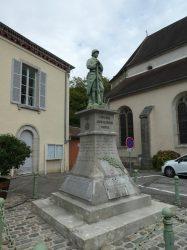 Monument aux morts – Rue Neuve – Conliège