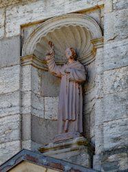 Statue Saint Point – Grande Rue – La Chaux-du-Dombief
