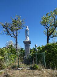 Vierge de Lourdes – Rue des Saillards – La Chaux-du-Dombief