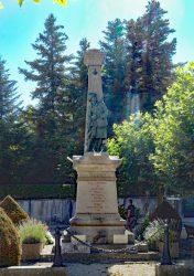 Monument aux morts – Place du 8 Mai 1945 – Clairvaux-les-Lacs
