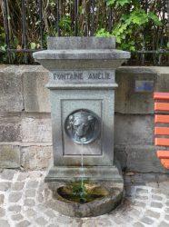 Fontaine Amélie – Rue Liétard – Plombières-les-Bains