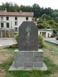 Médaillon Robert Fulton – Place Beaumarchais – Plombières-les-Bains