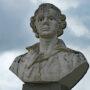 Monument à Charles Cornic - Morlaix (fondu - remplacé par de la pierre) - Image2