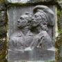 Médaillons d'Édouard et Tristan Corbière - Cours Beaumont - Morlaix - Image2