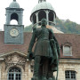 Monument au Général Jean-Joseph Gustave Cler - Place des Alliés et de la Résistance - Salins-les-Bains - Image3
