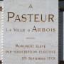 Monument à Louis Pasteur - Promenade Pasteur - Arbois - Image25