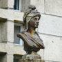Buste Marianne - Place de la Libération - Uzerche - Image1