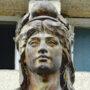 Buste Marianne - Place de la Libération - Uzerche - Image3