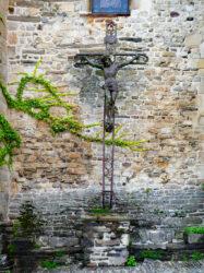 Christ en croix – Place de la Libération – Uzerche