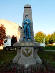 Monument aux morts – Rue Raymond Poincaré – Essey-et-Maizerais