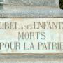 Monument aux morts - Place du Souvenir - Gibel - Image3