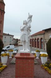 Jeanne d'Arc – Place Jeanne d'Arc – Calmont