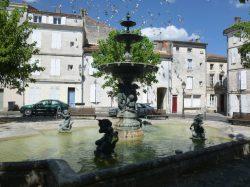 Fontaine – Place du Minage – Angoulême