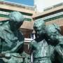 Monument aux docteurs Perrochaud et Cazin (groupe) - Esplanade Parmentier - Berck-Plage - Image5