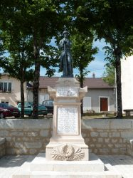 Monument aux morts – Place Saint Rémi – Nançois-sur-Ornain