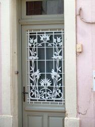 Panneau de porte – Rue Prosper Boucher – Foug