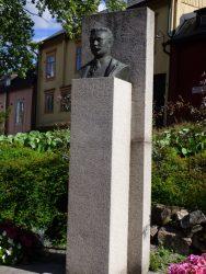 Buste d'Albert Edelfelt – Porvoo